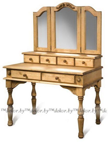 """Стол туалетный с зеркалом """"Викинг GL"""""""