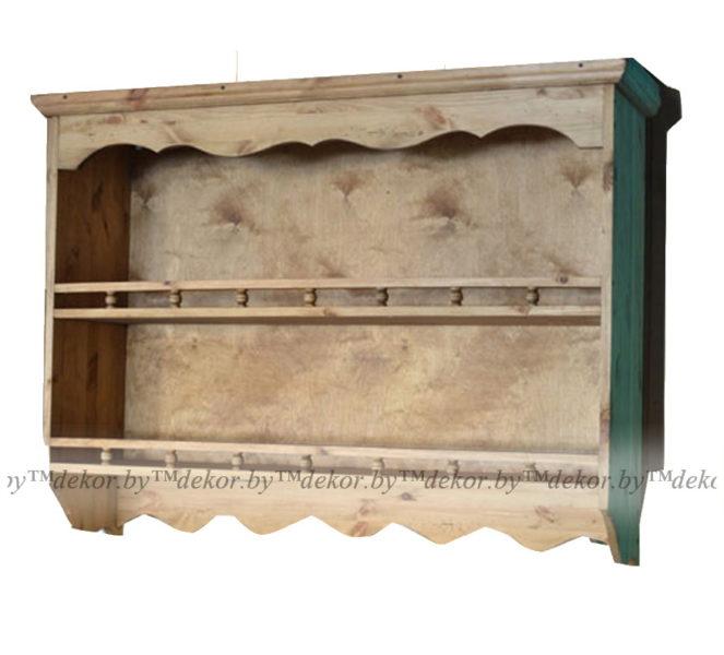 Шкаф настенный «Касита» 36 с балюстрадой