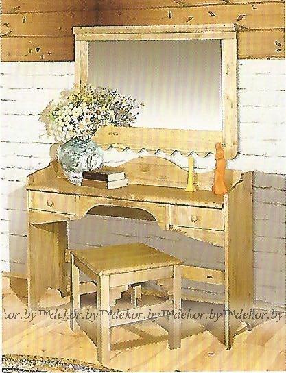 "Стол туалетный с зеркалом ""Касита"""