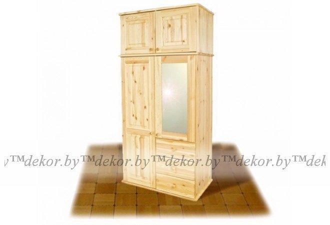 Шкаф с зеркалом МД-332