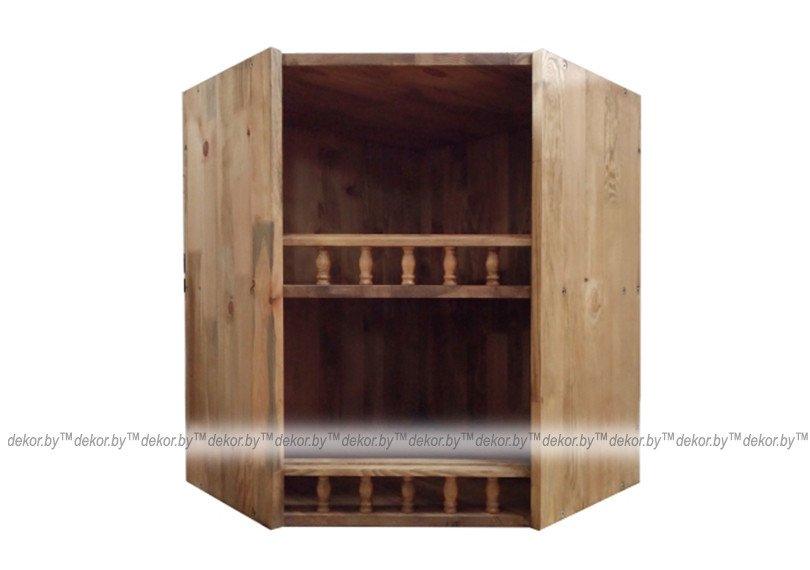 Шкаф настенный «Викинг GL» угловой №11
