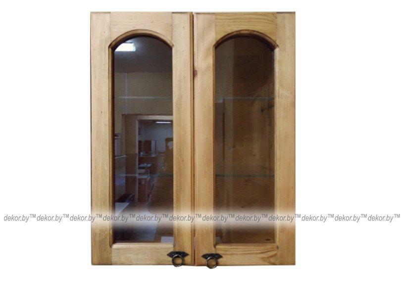 Шкаф настенный «Викинг GL» со стеклом №9