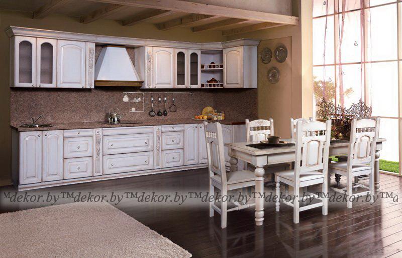 """Мебель для кухни """"Викинг GL"""" браширование"""