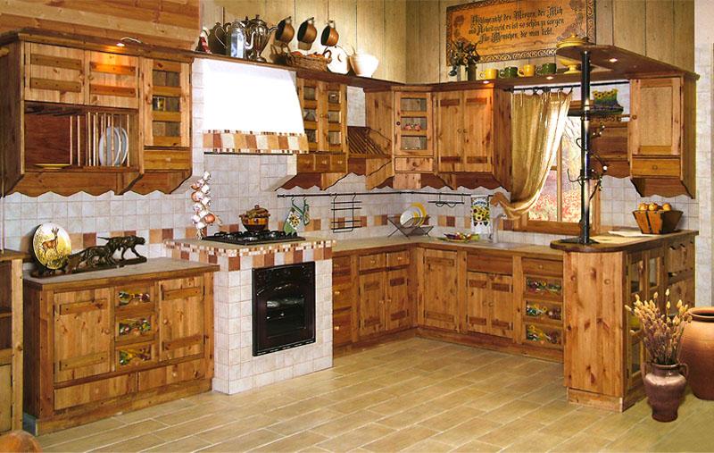 Кухня в старом стиле