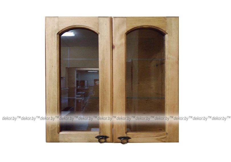 Шкаф настенный «Викинг GL» со стеклом №32
